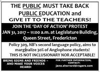 JAN 31 AT 11:00  AM RALLY TO TAKE BACK PUBLIC EDUCATION