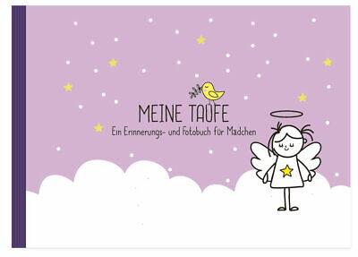 Taufbuch für Mädchen: Meine Taufe (Fotoalbum, Taufalbum, Gästebuch, rosa) |