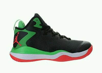 san francisco 4e408 50c09 Nike Jordan Super.Fly 3 Basketball Youth US 6.5 Black Green 684936-030 NEW   120