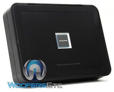 Pdx-v9 Alpine 5ch Amp Speakers Component Tweeters Subwoofer Stereo Amplifier on sale