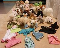 26 Perfect Condition Webkinz and Clothes