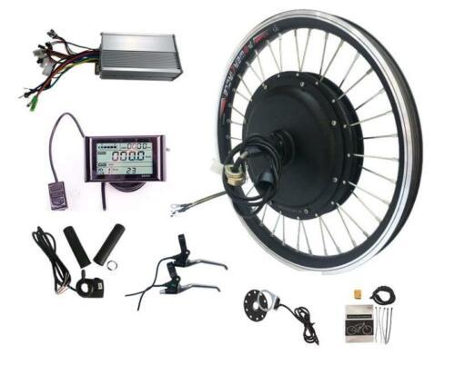 "E-bike 48V 1000W 27.5"" Front Wheel Conversion Kit, Hub motor with sw900 LCD"