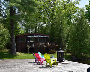 Private Waterfront Family Cottage on Pigeon Lake, Bobcaygeon