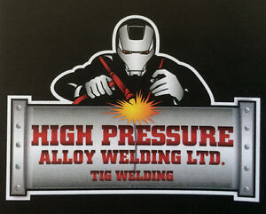 Fabrication welding for contract work