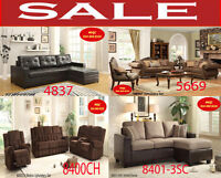 modern living room sets, fabric sofas, leather sofas for sale