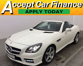 Mercedes-Benz SLK250 FROM £93 PER WEEK!