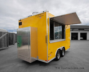 NEW Al Fresco Food Trailers - Be your own boss!