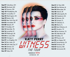 Katy Perry in Vancouver GREAT GIFT  FOR LESS THAN COST!