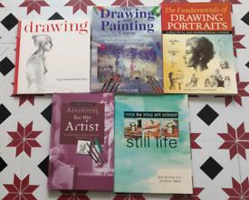 5 brand new Art books