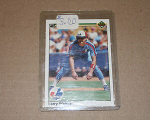 1990 Upper Deck MLB Larry Walker