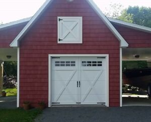 GARAGA GARAGE DOORS- HARVEY VINYL WINDOWS