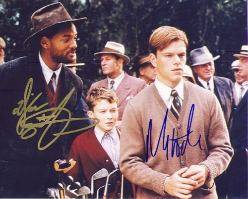 *BAGGER VANCE* MOVIE PHOTO 8X10 SIGNED REPRINT WIILL SMITH AUTOGRAPHED