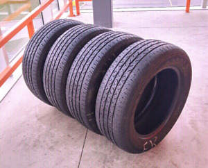 Sets of four all season tires :215/60/16 & 205/70/15