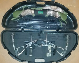 Hoyt Charger Bow Hunting Package ready to go