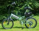electric bike folding ebike