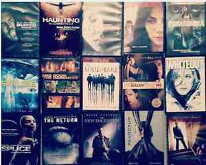 15 Thriller Used DVD's