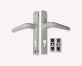 White upvc door handle new