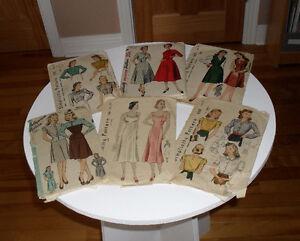Anciens patrons mode vintage