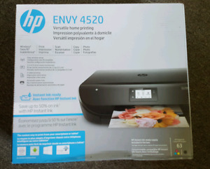 HP Envy 4520 wireless all in one color printer