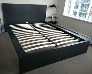 Bed Frame and Headboard For Sale
