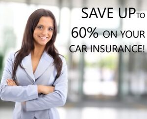 GET UP TO 60% SAVINGS ON YOUR CAR INSURANCE NOW!