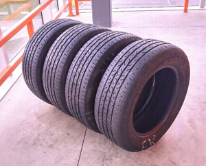 Sets of four 215/60/16,205/70/15 all season tires
