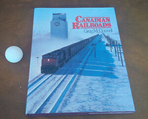The History of Canadian Railroads, Greg McDonnell, 1985 Kitchener / Waterloo Kitchener Area image 1