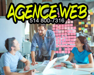 Agence website design, conception de site web et de graphisme