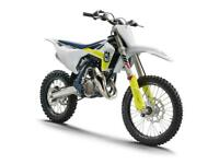 HUSQVARNA TC 85 2021 MOTOCROSS BIKE BRAND NEW SMALL WHEEL