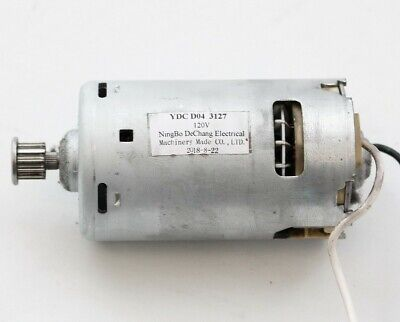 YDC D04 3127 120V Brush Roll Roller Motor From Hoover UH74210 Powerdrive