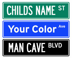 Custom Street Signs.. Metal, Authentic & Locally Made