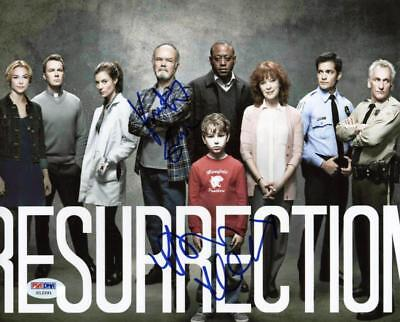 Resurrection  2  Kurtwood Smith   Devin Kelley Signed 8X10 Photo Psa Dna  X12291
