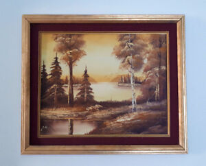1980s Painting by Pamela Apstine - Signed - Canadian N.S. Art