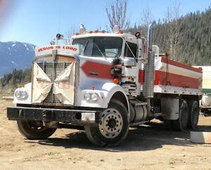 1978 Kenworth W900A Dump Truck