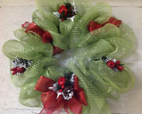 Garage Sale - Christmas wreaths