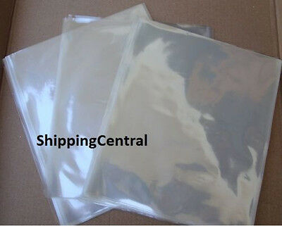 Ventura Paper 500 Pieces 100 Gauge 6 X 7 Clear Heat Shrink Wrap Film Flat Bags