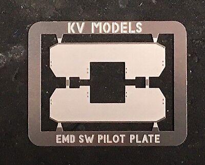 ETCHED SW-8 SW-9 SW-1200 PILOT CONVERSION PLATES HO SCALE KV MODELS
