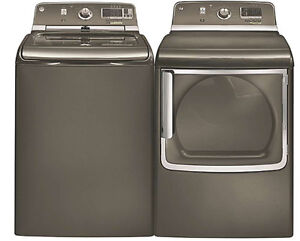 GE HE washer and dryer