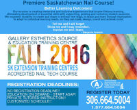 Begin Your Nail Technician Career this FALL!