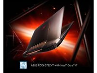 ASUS ROG G752VY 17.3″ Notebook - Core i7 2.6 GHz - 16 GB RAM - 512 GB SSD - GrayLaptop