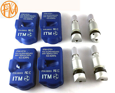 Tire Pressure Sensors Audi TPMS A3 2006 2012 Set of 4