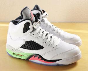 Air Jordan 5 Pro Star / Poison Green Size 13