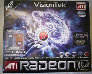 AGP Radeon X1300XT - Collectors Item, Original Shrink Wrapped
