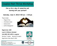 Couples that Thrive Workshop