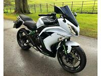 KAWASAKI ER-6F - ER650 - IMMACULATE EXAMPLE THROUGHOUT - FITTED EXTRAS - PX