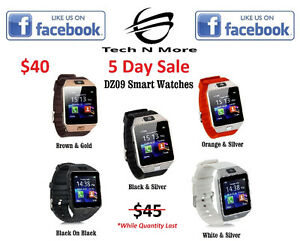 DZ09 Smart Watch (5 Colors) (ON SALE)