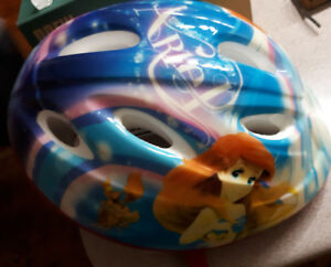 DISNEY The Little Mermaid girls bike helmet-$5