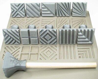 Инструменты для керамики Pottery texturing ceramic