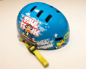 Paul Frank Blue children's helmet