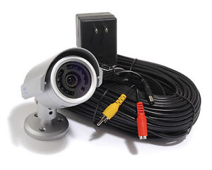 Weatherproof Indoor and Outdoor Color Camera with night vision